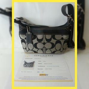 Coach Black Purse Handbag COA